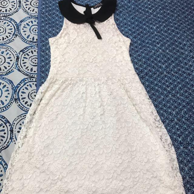 Peter Pan Collar Dress Size 10