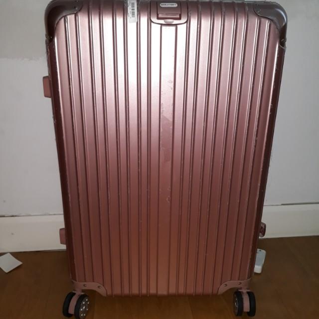 Pink Luggage (Large size)