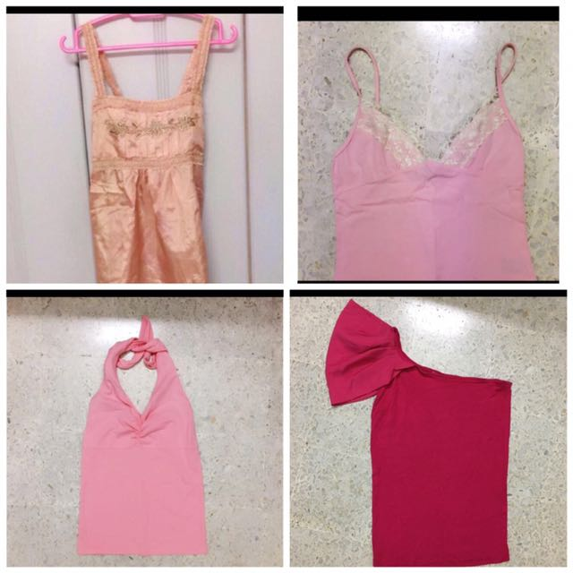 Pink tops Clearance