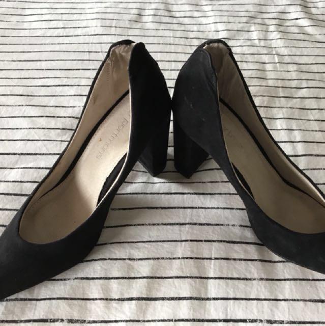 Portmans Black high heels