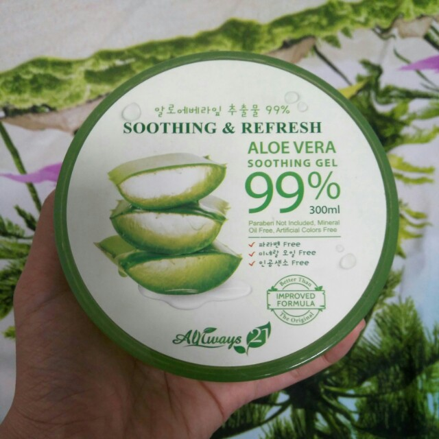 PRELOVED Always 21 Aloe Vera Soothing Gel 99%