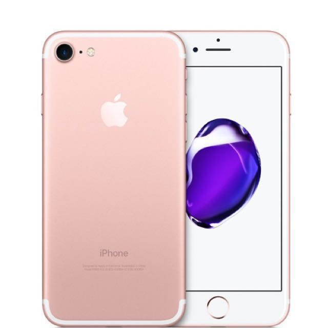 Pre-loved Iphone 7 rosegold 32gb