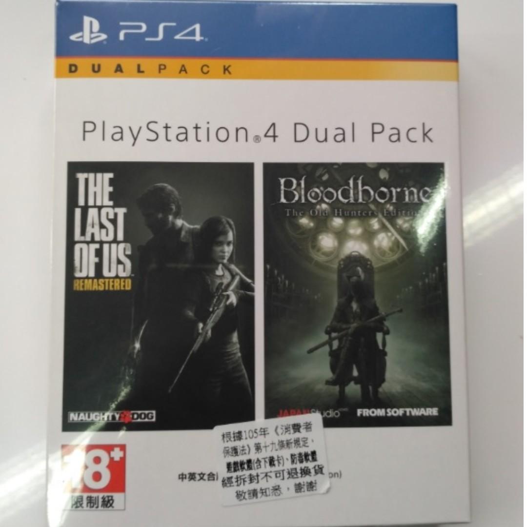 PS4 最後生還者+血源詛咒(遠古獵人)