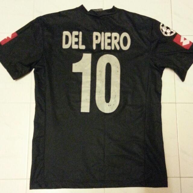 check out d6ac9 26ac2 RARE Legendary Alessandro Del Piero Juventus Champions League Jersey Large