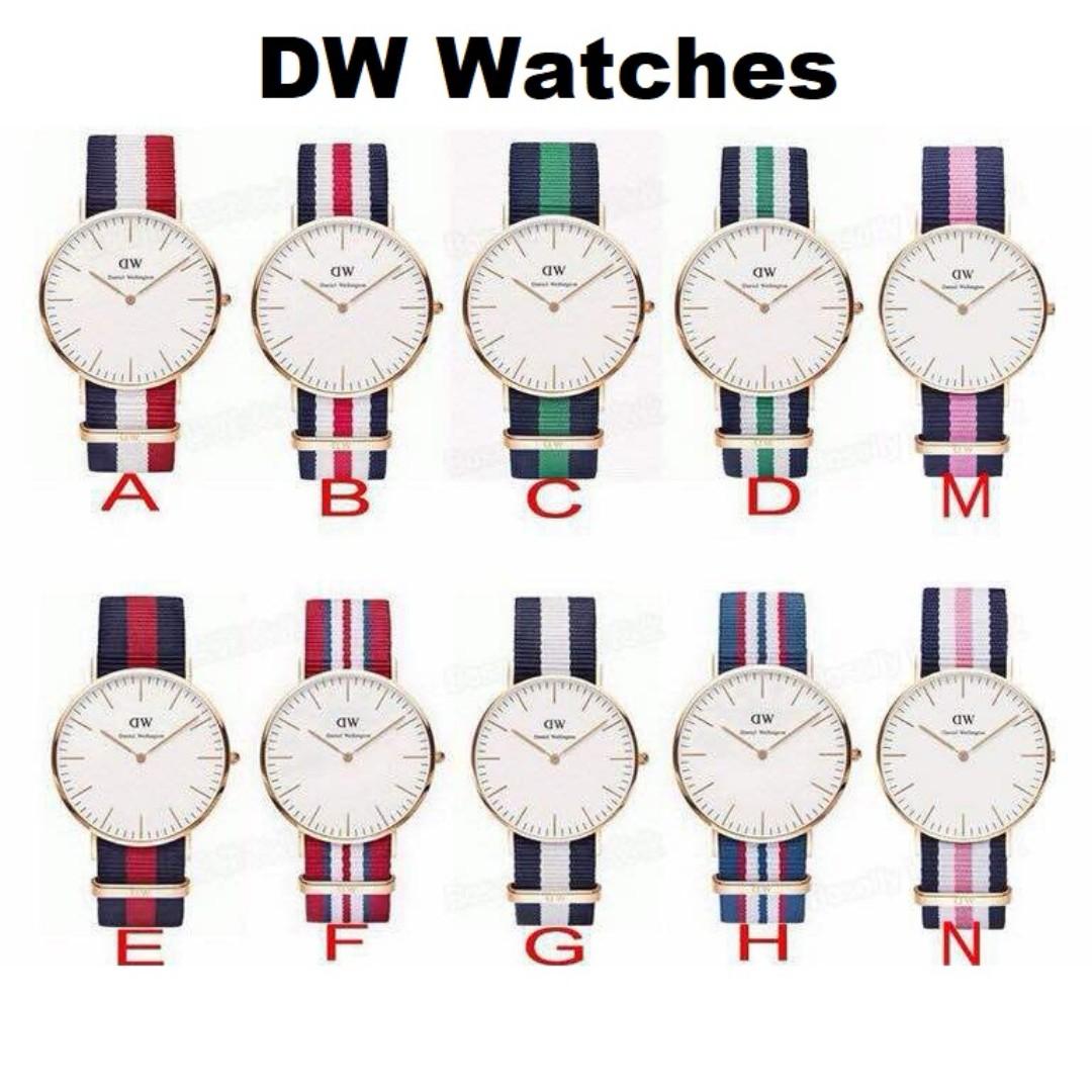 [READY STOCK] DW Daniel Wellington Men Women Rose Gold Watch
