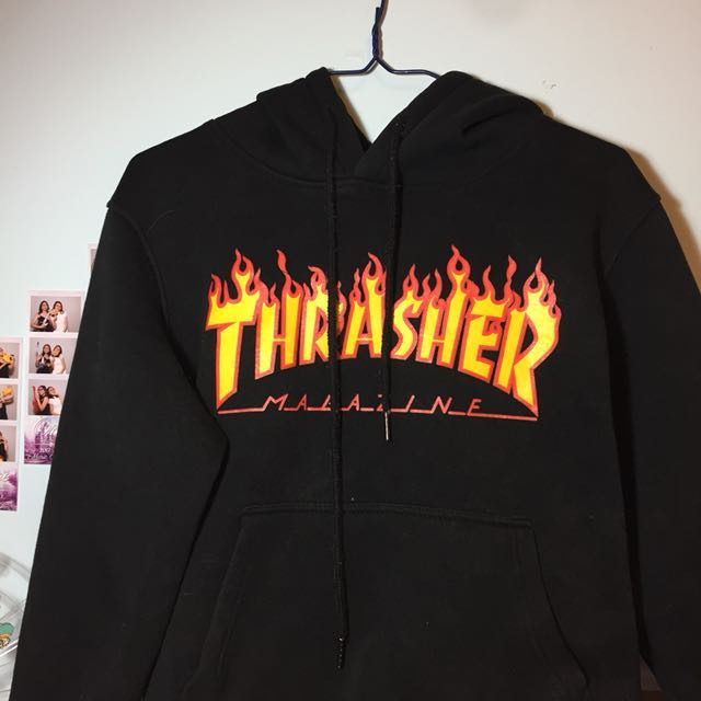 ❗️REDUCED PRICE❗️thrasher hoodie