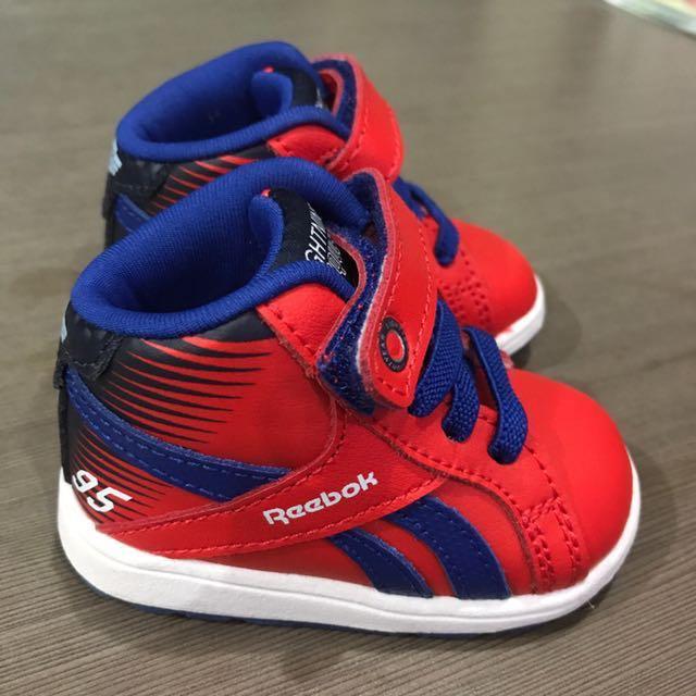 dddc2f61f2 Reebok Baby Boy Shoes , Babies & Kids, Babies Apparel on Carousell