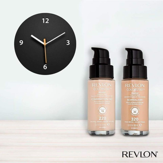 RM55 Promo. Revlon Colorstay Foundation (with pump)