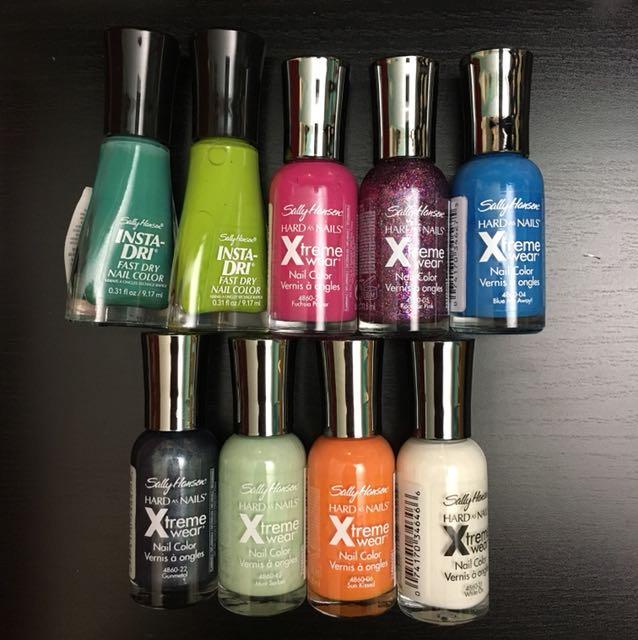 Sally Hansen nail polish bundle