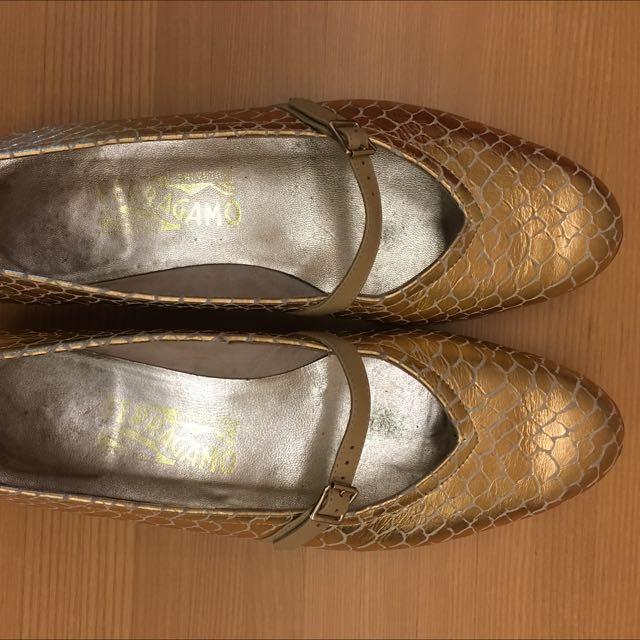 SALVATORE FERRAGAMO 經典絕版Mary Jane Shoes 美國購入