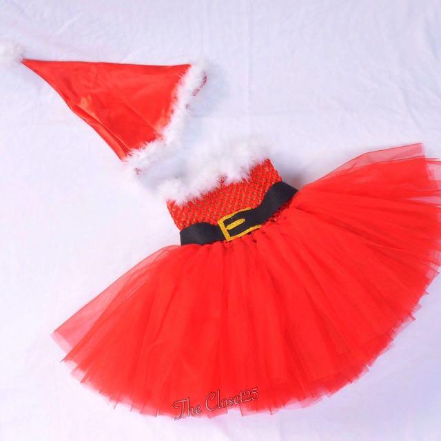 Santa Baby costume tutu