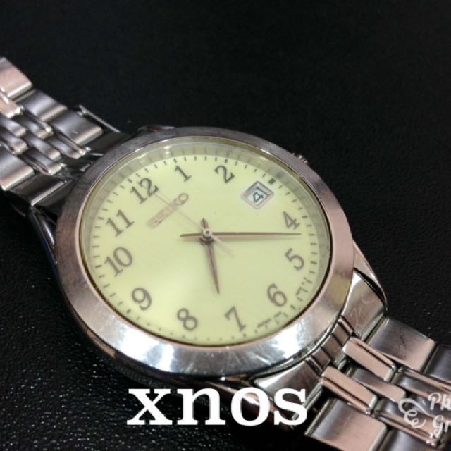 SEIKO 7N42-9100 Vintage(Made in Japan)Full Lume Dial Watch