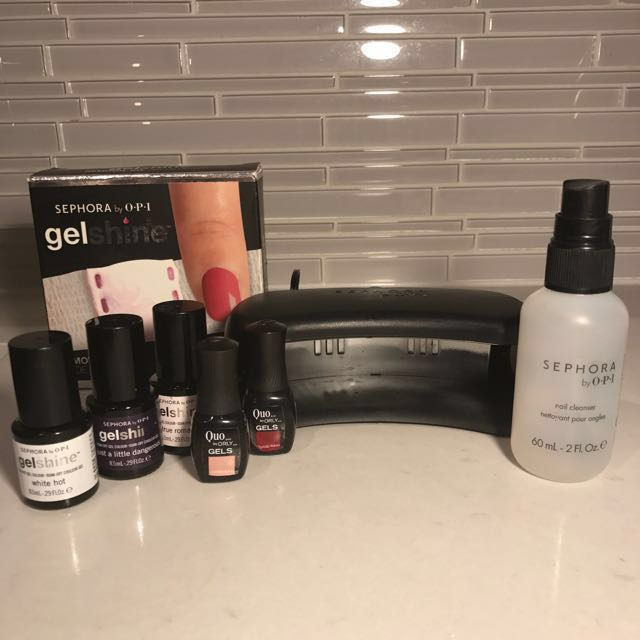 Sephora by O.P.I. Gelshine Shellac Nail Kit
