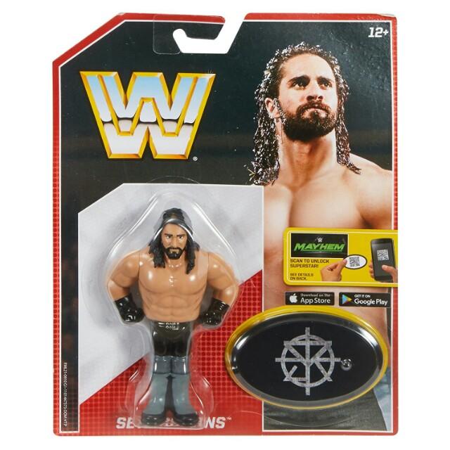 WWE//WWF Wrestling Retro Figure /'Seth Rollings/' CARDED BRAND NEW