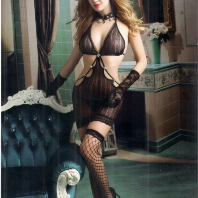 SEXY LINGERIE MODEL TEDDY ROK, BAHAN POWER NET