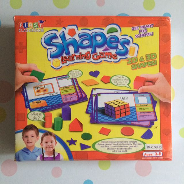 Shapes Learning Game