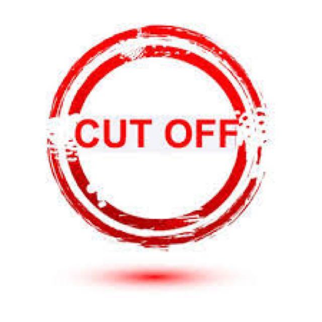 Shopping Cut-Off