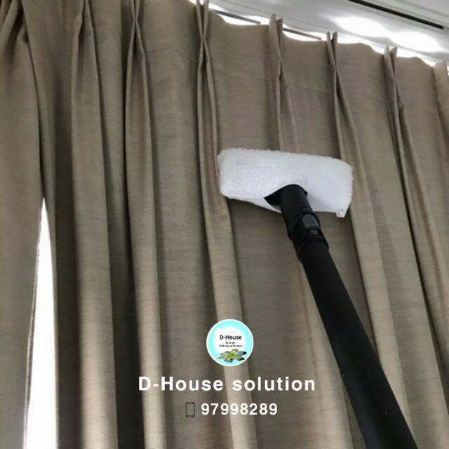 Singapore Curtain Dry Cleaning Services Home