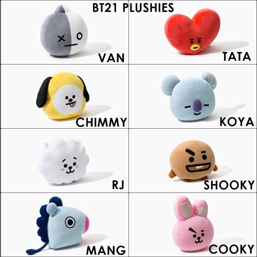 BT21 Cooky Drawing Images