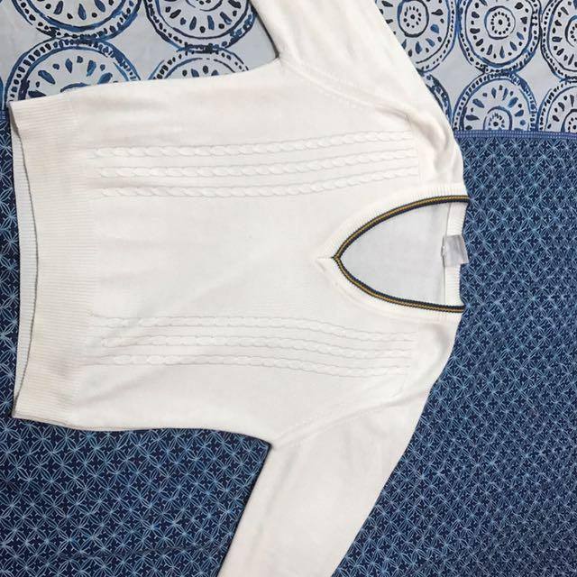 Size 16 White Sweater
