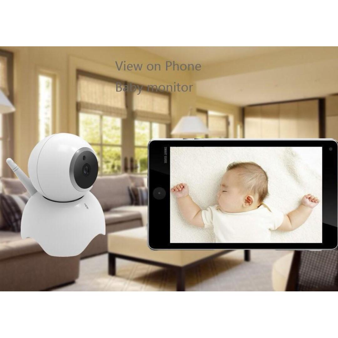 SMART HD IP Camera,1080P Wireless Wifi Security Camera Home Monitor IndoorOutdoor 2-Way Audio