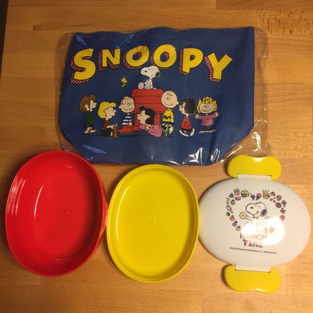 Snoopy便當盒(含運)