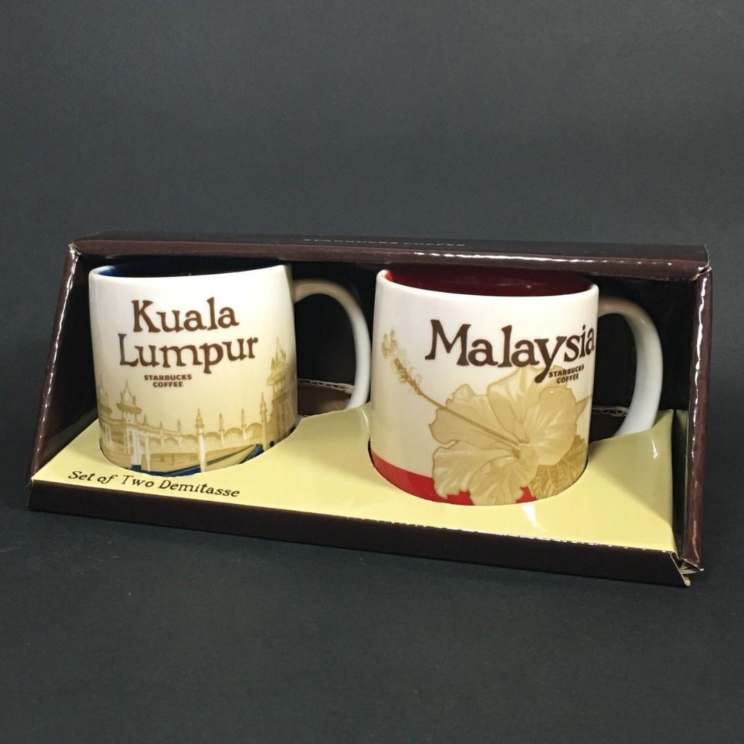 📣🆕Starbucks® 🇲🇾 3oz Global Icon Demitasse - Kuala Lumpur v2