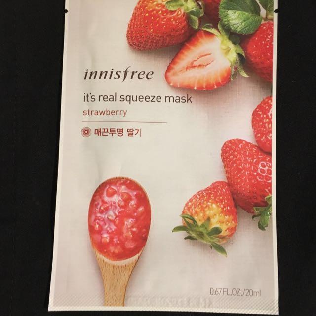 Strawberry Face Masks