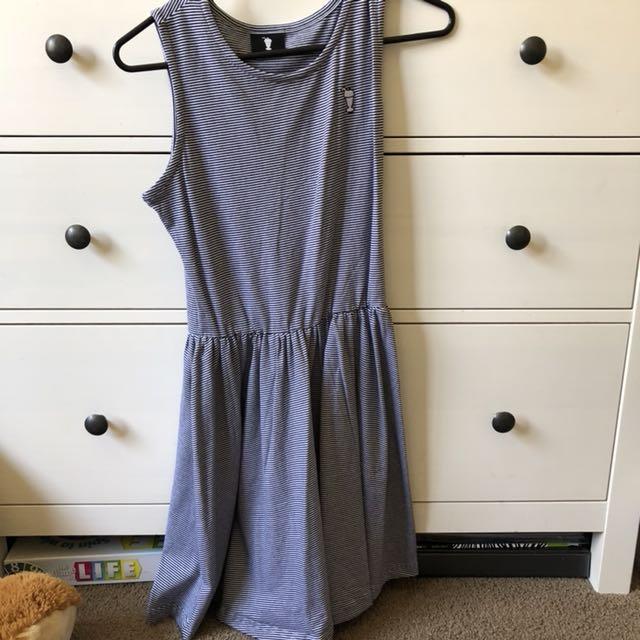 Stripy Cheer Up Clothing Skater Dress