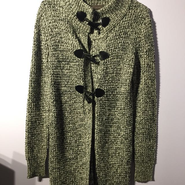 Suzy Shier Long Knit Jacket - XS