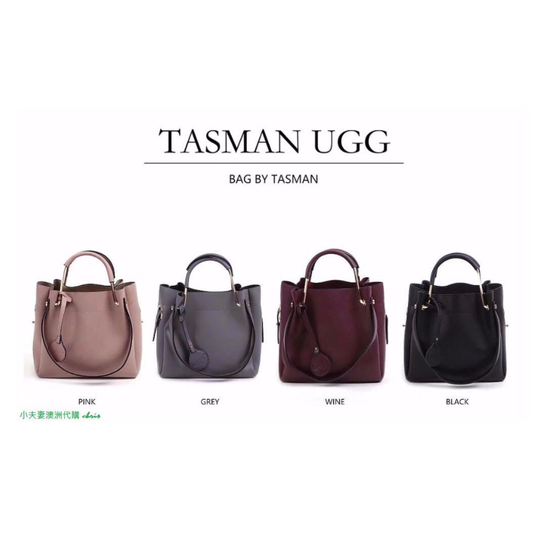澳洲原裝進口-Tasman UGG 牛皮時尚子母包