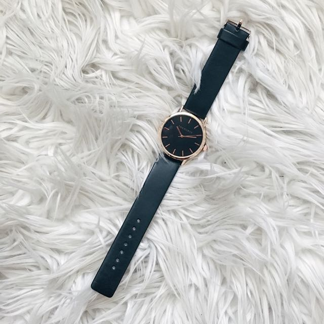 The Horse Black And Rose Gold Watch Rep