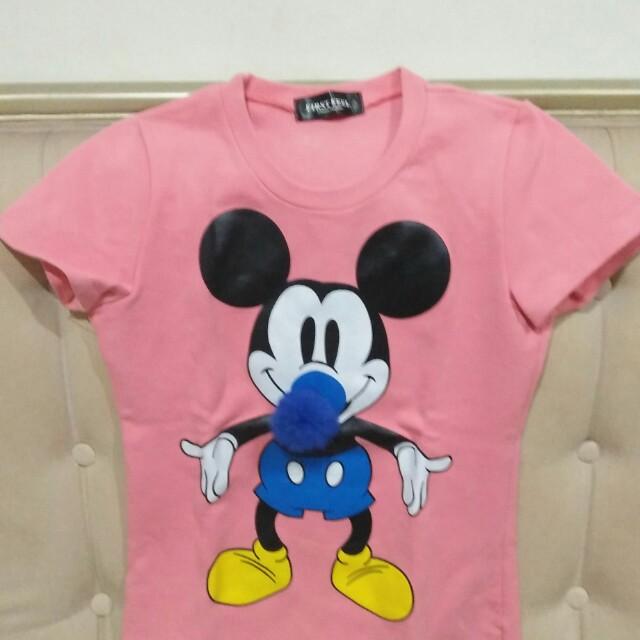 Tshirt mickey mouse
