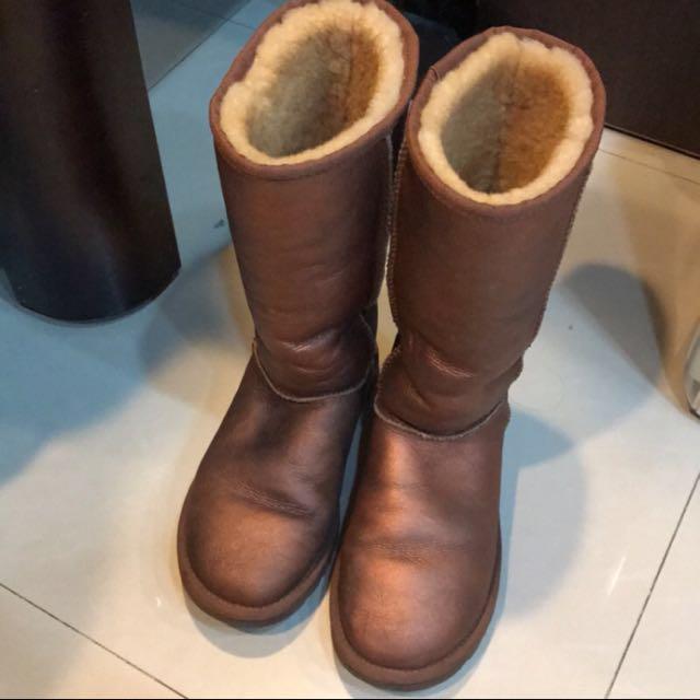 澳洲真品UGG 秋冬保暖好配件 好搭 便宜賣 雪靴