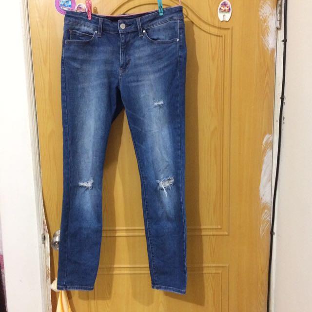 UNIQLO JEANS牛仔褲27腰(68.5cm)