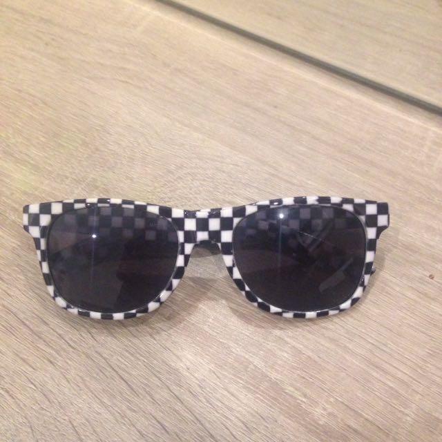 Vans Spicoli 4 Sunglasses - Black Checkerboard