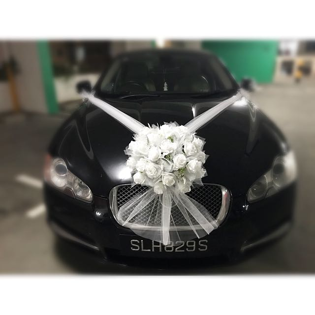 Wedding Bridal Car Decor Design Craft Others On Carousell