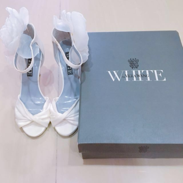 571ad3170ba White by Vera Wang wedding shoes heels
