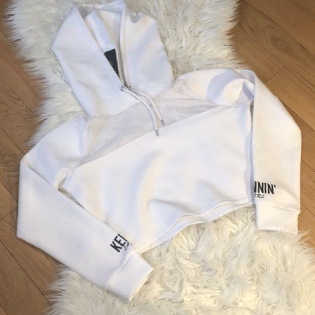 Women's crop hoodie