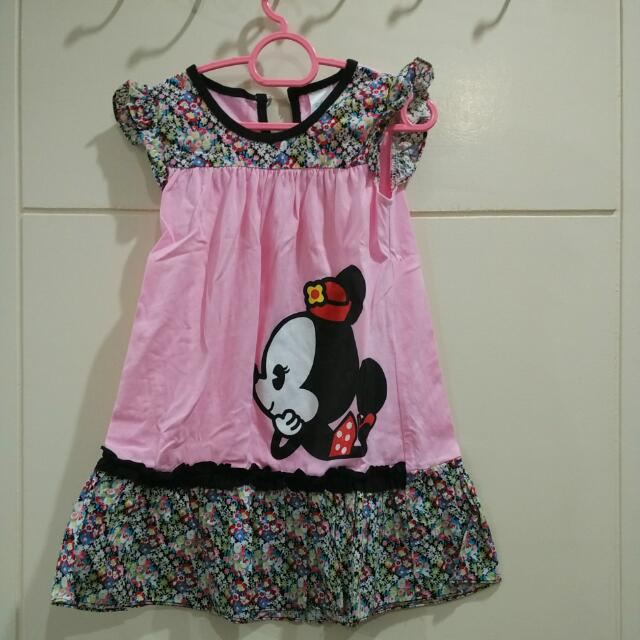 Worn Once Minnie Mouse Dress
