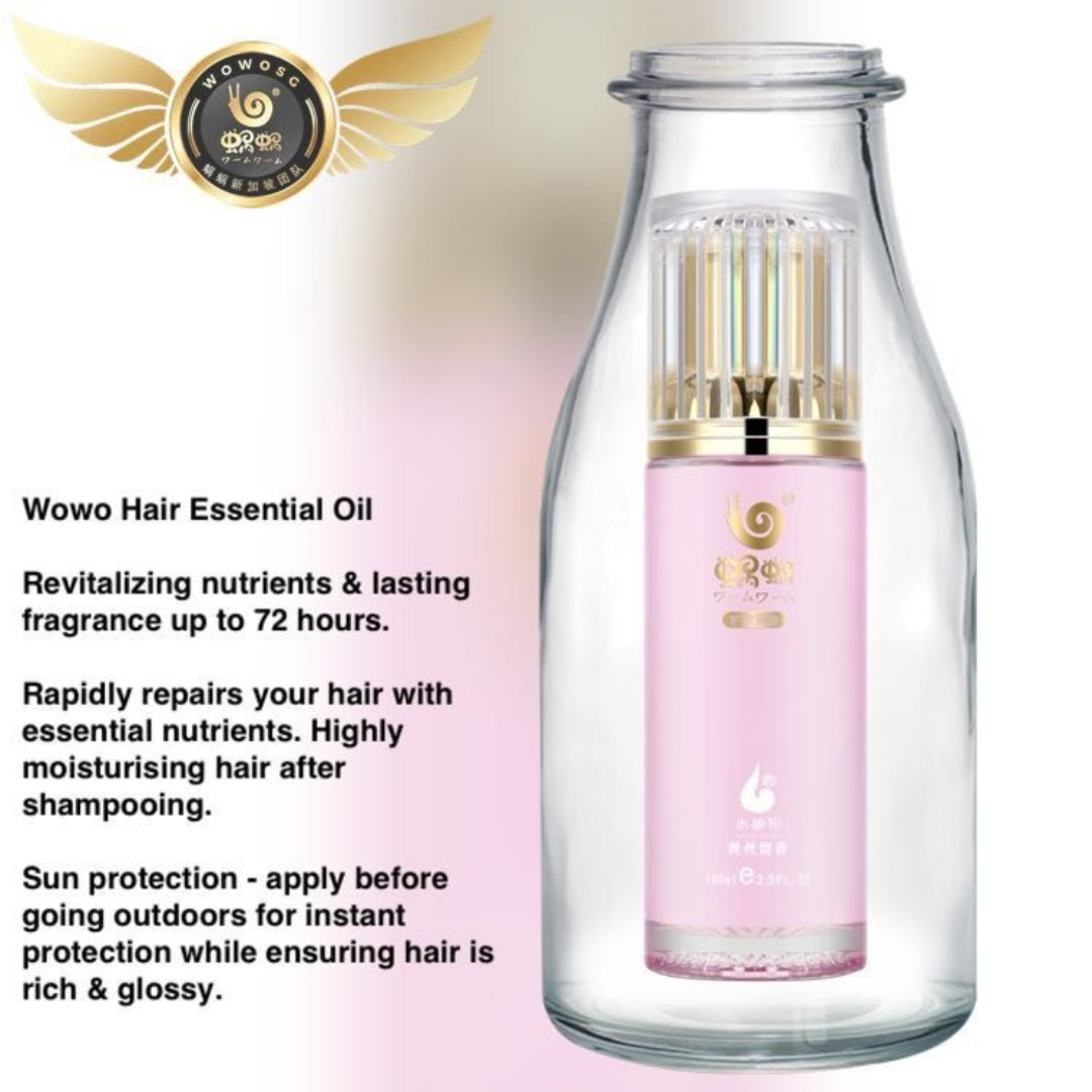 WOWO Hair Essential Oil - Last for 8 Months: