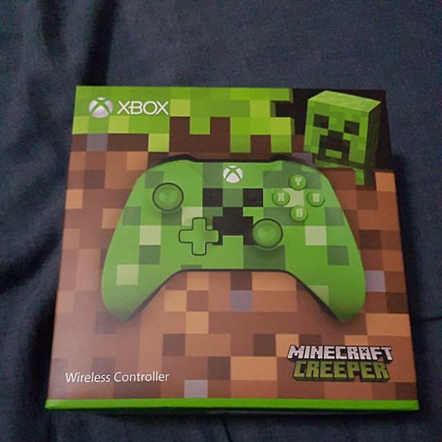 Xbox One Wireless Controller Minecraft Creeper Edition Toys Games Video Gaming Gaming Accessories On Carousell