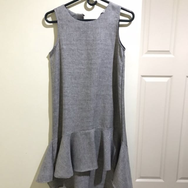 Ziya gray dress