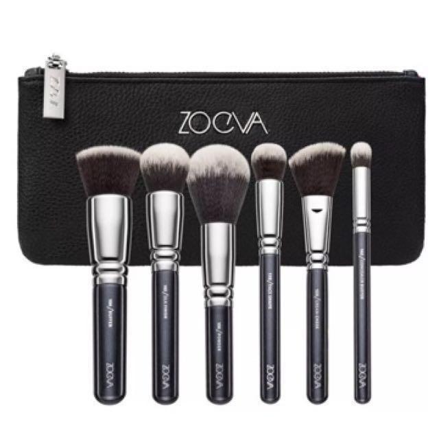 Zoeva 6pcs Makeup Brush Set