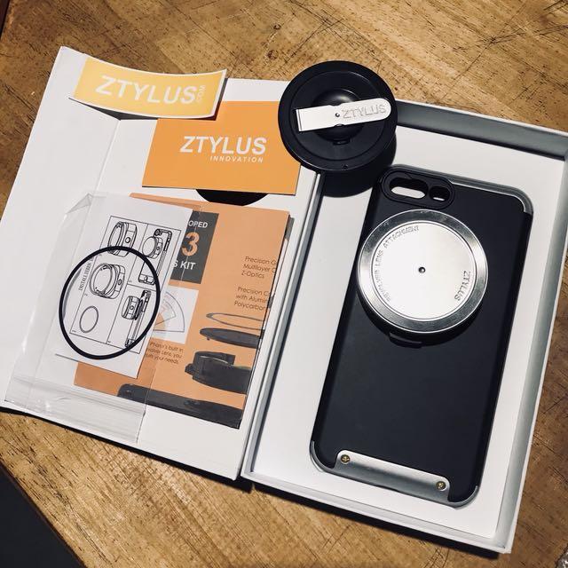 ZTYLUS IPHONE 7plus 專業照相手機殼(含鏡頭)