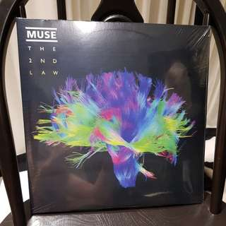 Muse the 2nd law vinyl record 2LP