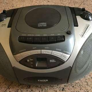 Cassette, CD cum DVD player