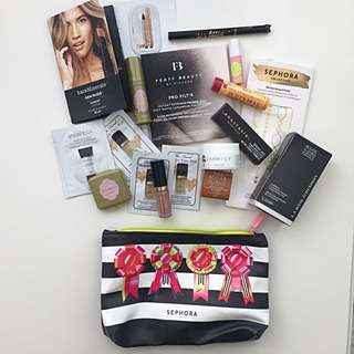 DELUXE Make Up Sample Bag + Lipstick Power Bank