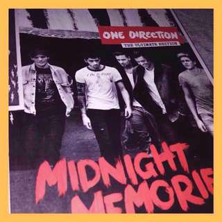 [BARELYUSED]One Direction Midnight Memories CD