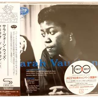SEALED New Made in Japan SHM CD Sarah Vaughn